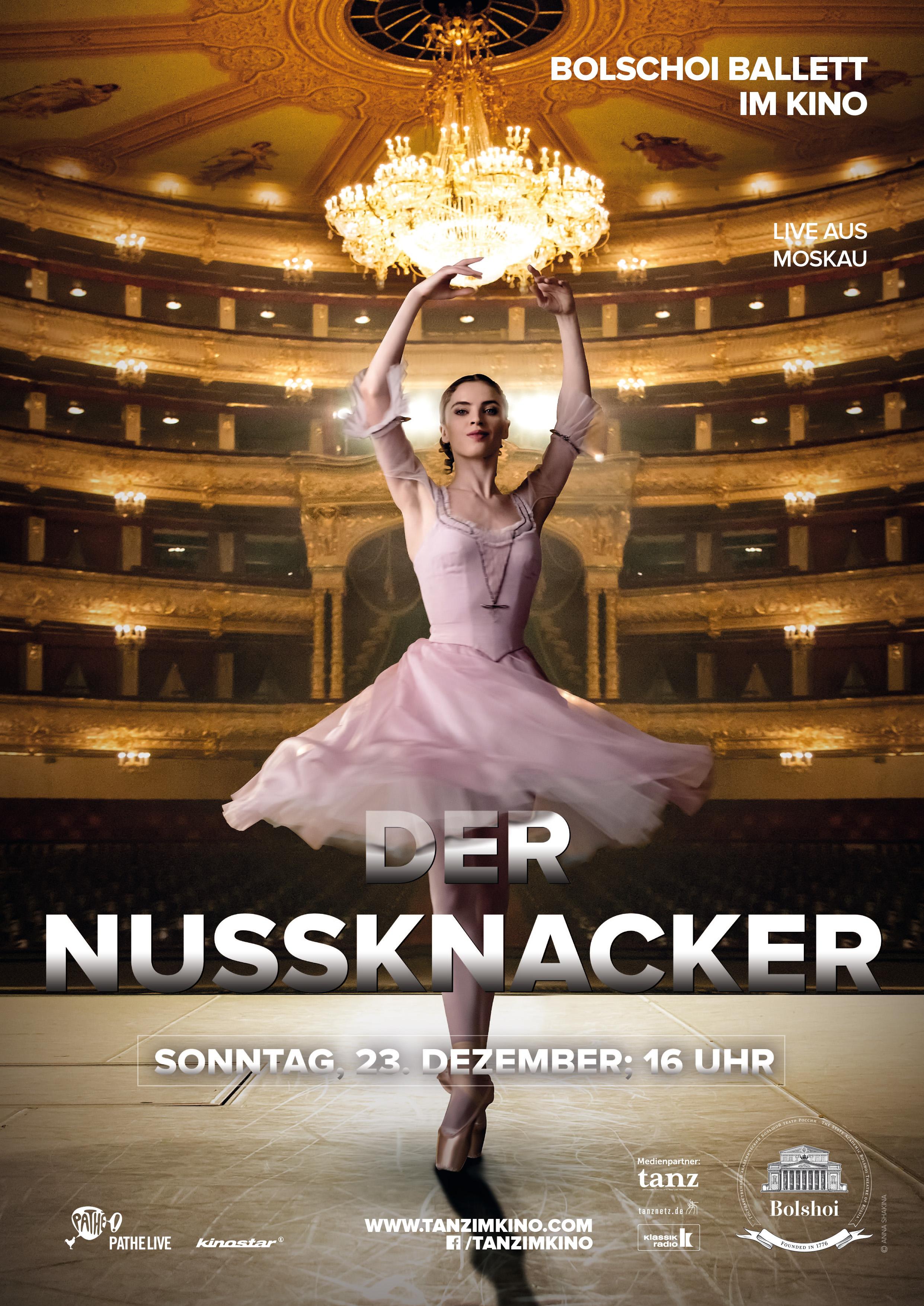 BOLSCHOI BALLETT: Der Nussknacker (live)