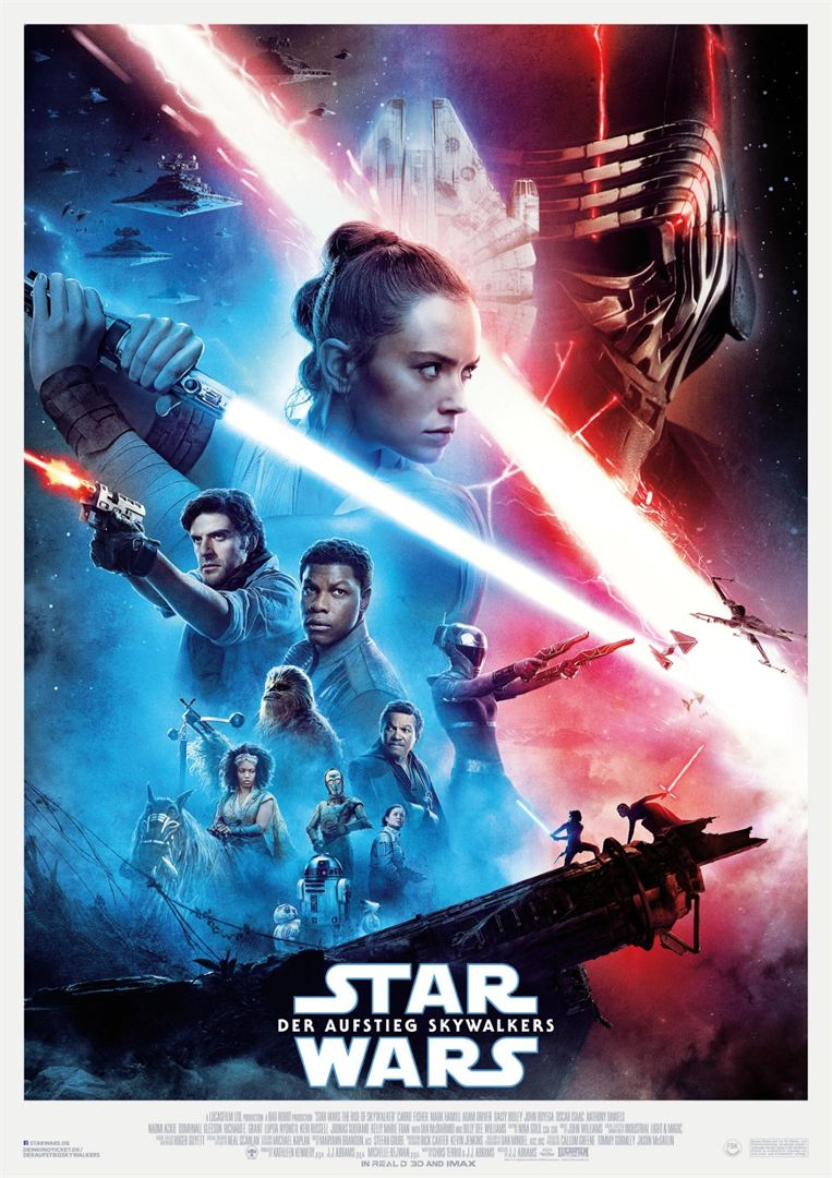 Triple Feature: Star Wars Teil 7+8 und 9